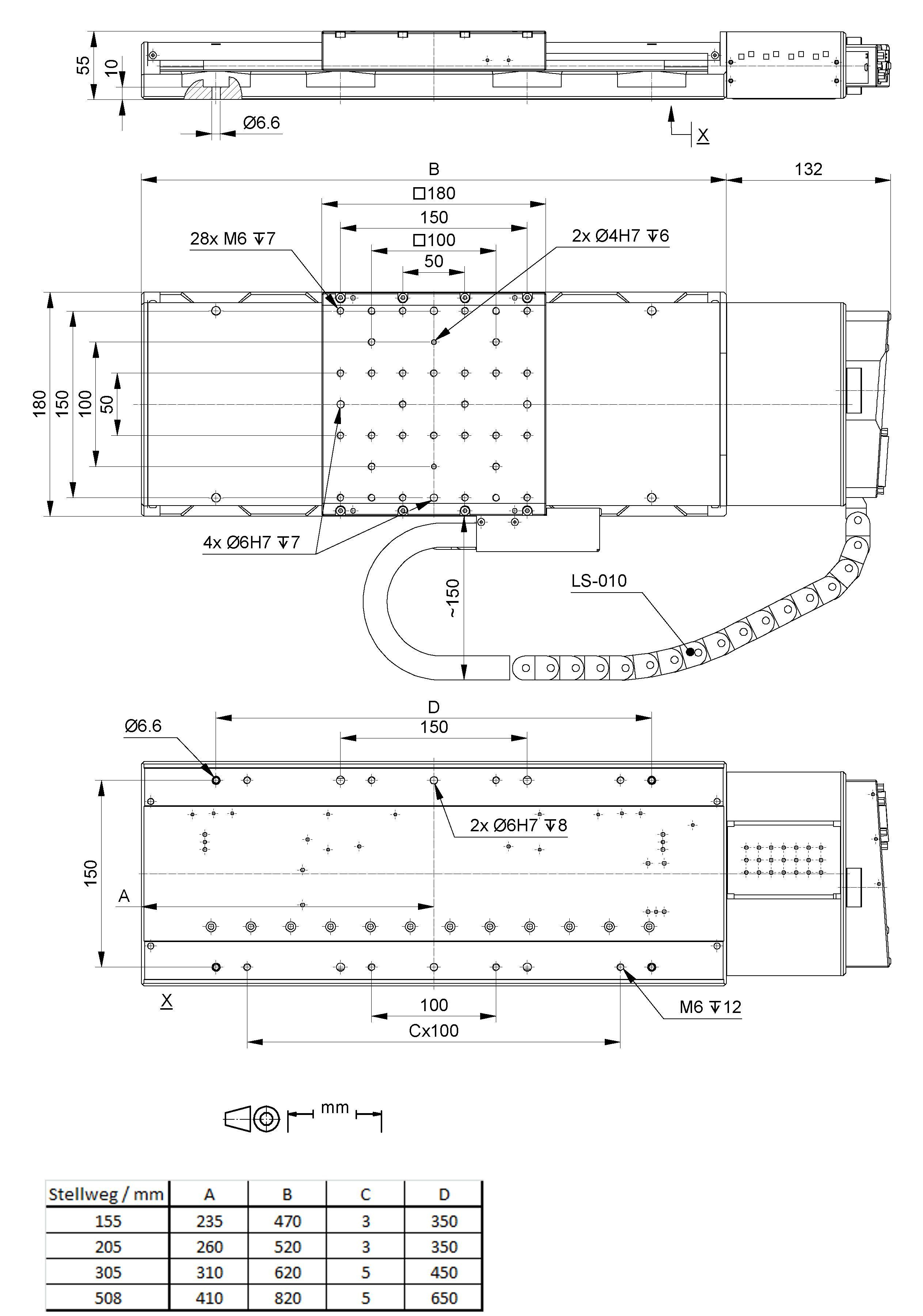 Ls 180 Linear Stage For Heavy Loads Load Center Wiring Also Diagram Moreover 3 Phase Drawing
