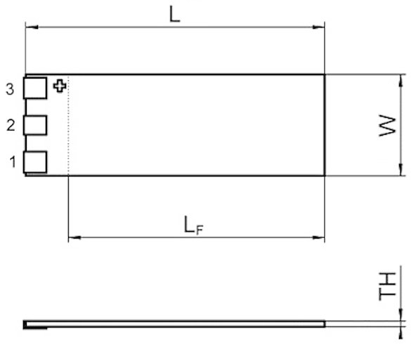 PL112.10 – PL140.10. L, L, W, TH, see data table.