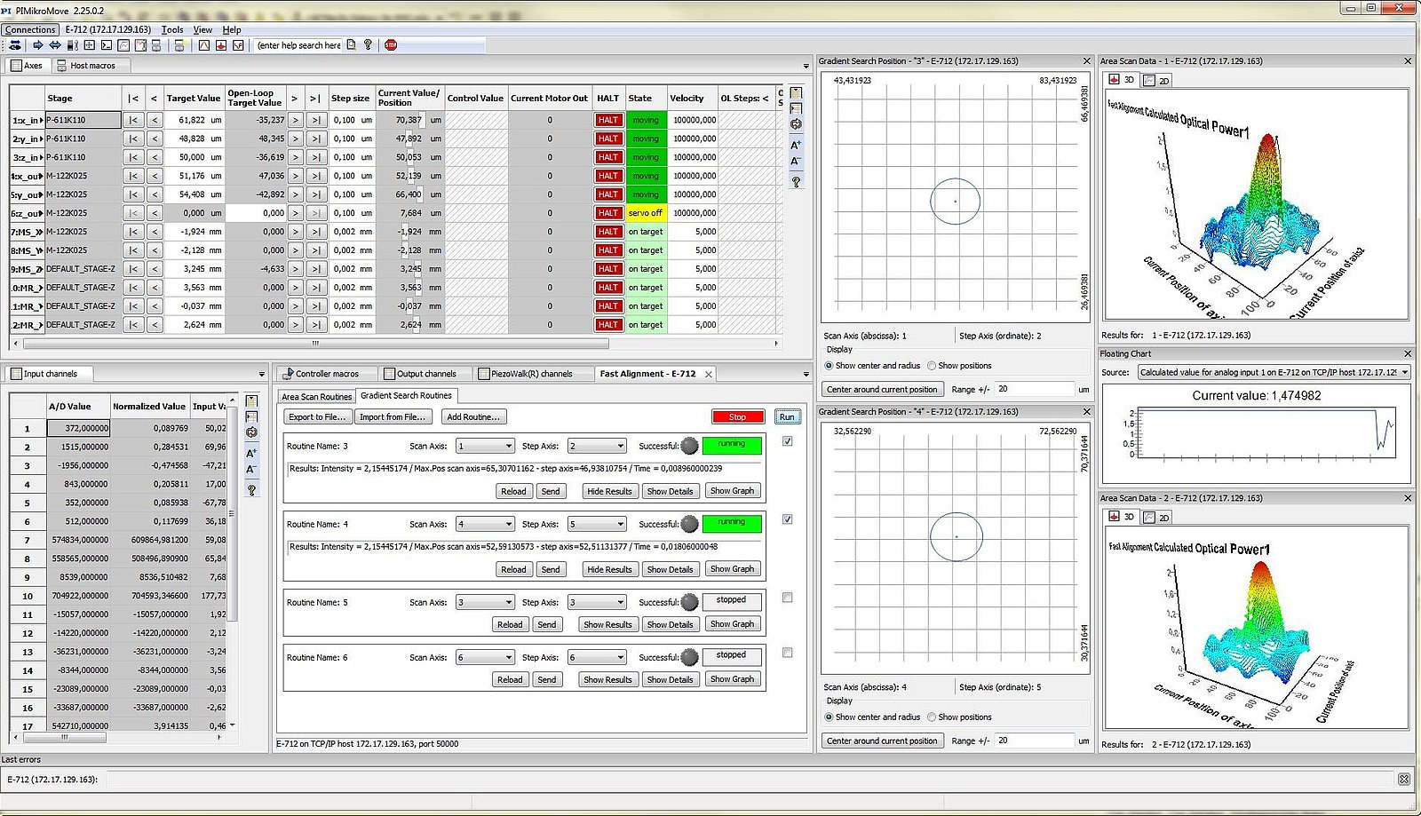Motion Control Software Brushless Motor Diagram Free Engine Image For User Manual All Digital Controllers Made By Pi Are Accompanied An Extensive Package It Includes The Which Is Installed On A Host Pc Connected
