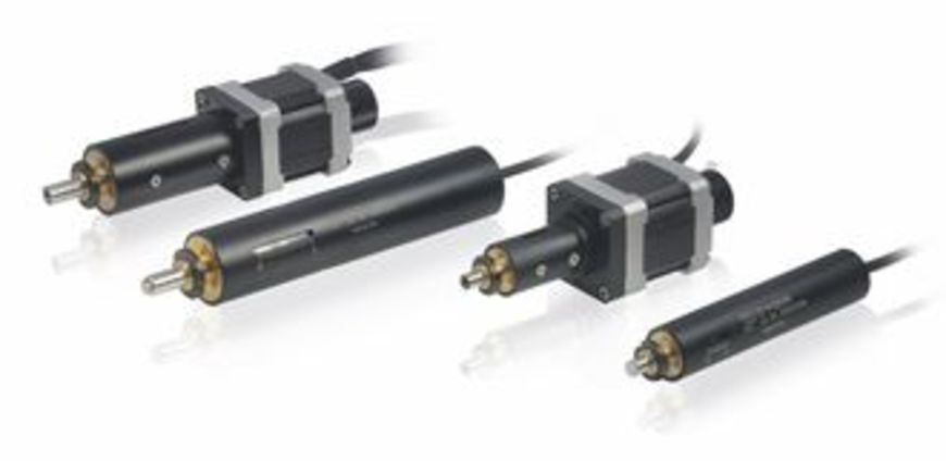 M 228 m 229 high resolution linear actuator with stepper for Linear actuator stepper motor driven