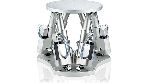 Fast 6-axis hexapod for loads to 60 kg