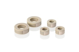 Round PICMA® Chip miniature piezo actuators, lapped end surfaces.