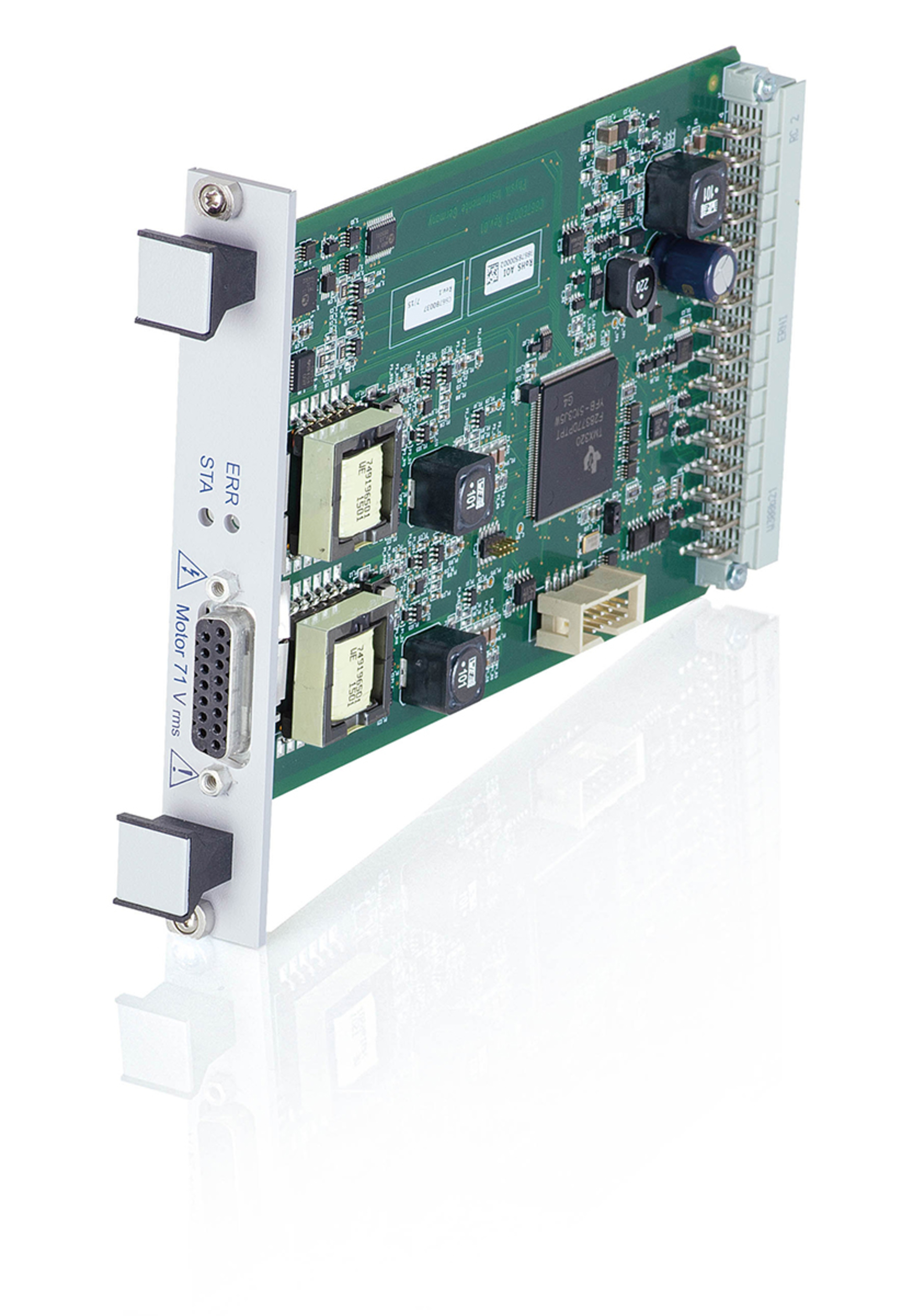 C 86710c885 Piline Controller Module Voice Data Combination With Ethernet Switch For 885 Pimotionmaster Modular System