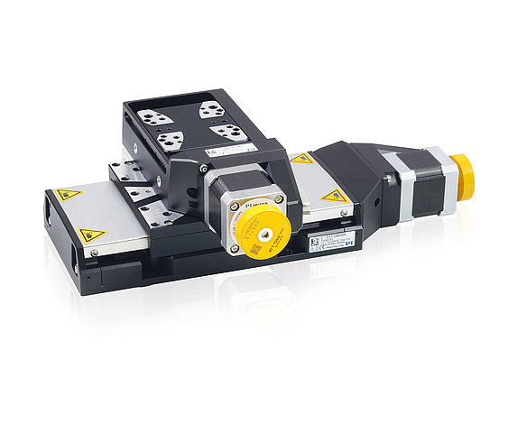 L-511 and L-509 precision stages can be combined without using an adapter plate for multi-axis positioning