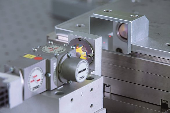 High-precision piezo positioning systems are measured using highquality calibrated interferometers