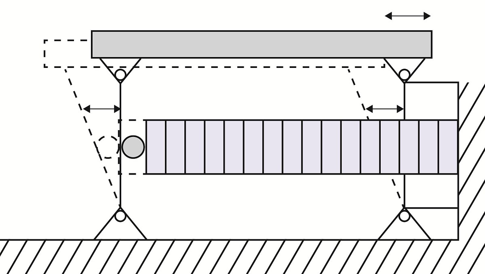 piezo actuators with and without guiding