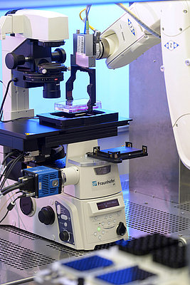 High-throughput designed microscopy system