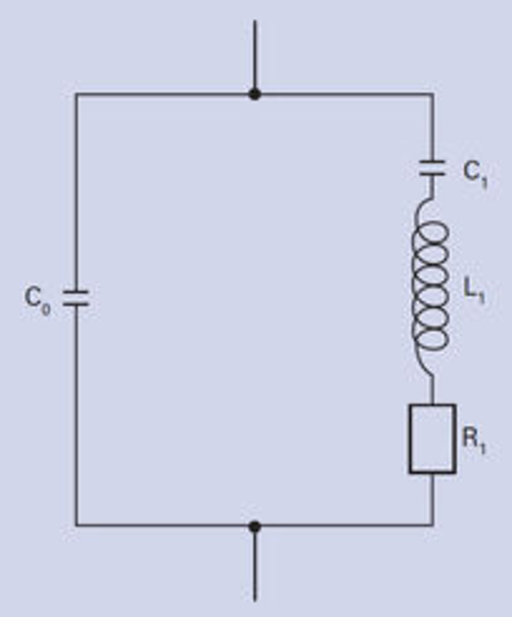 Fundamentals Of Piezo Technology Classical Telephone Hybrid Circuit Equivalent Diagram A Piezoelectric Resonator