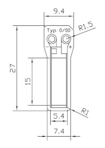 P-878.A1, dimensions in mm